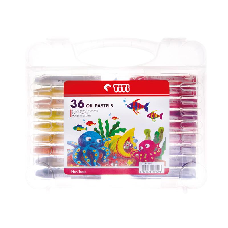 پاستل 36 رنگ همراه با ابزار