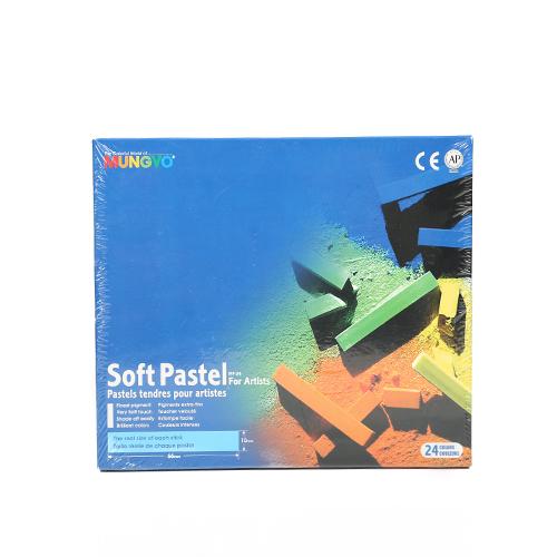 پاستل گچي 24رنگ از سری MP24-Mp-Soft Pastel