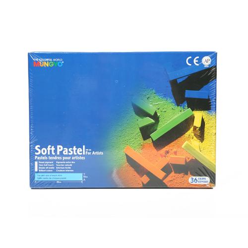 پاستل گچي 36رنگ از سری - MP36-MP-Soft Pastel