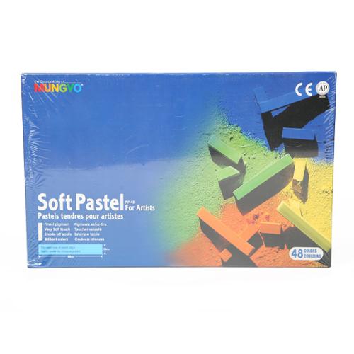 پاستل گچي 48رنگ از سری Mp48 -Mp-Soft Pastel