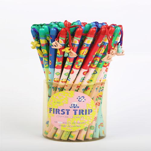 مداد بدنه شش گوش آویز دار طرح مسافرت
