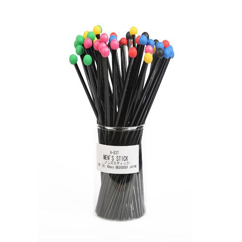 مداد با پاک کن گرد بدنه مشکی براق