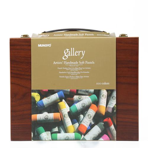 پاستل گچی 100رنگ جعبه چوبی  از سری - Hand Made MPHM100