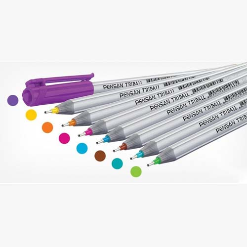 خودکارهای رنگی تریبال ۳D