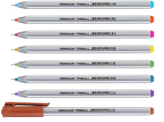خودکار تریبال- رنگی فانتزی لیوان ۶۰ عددی